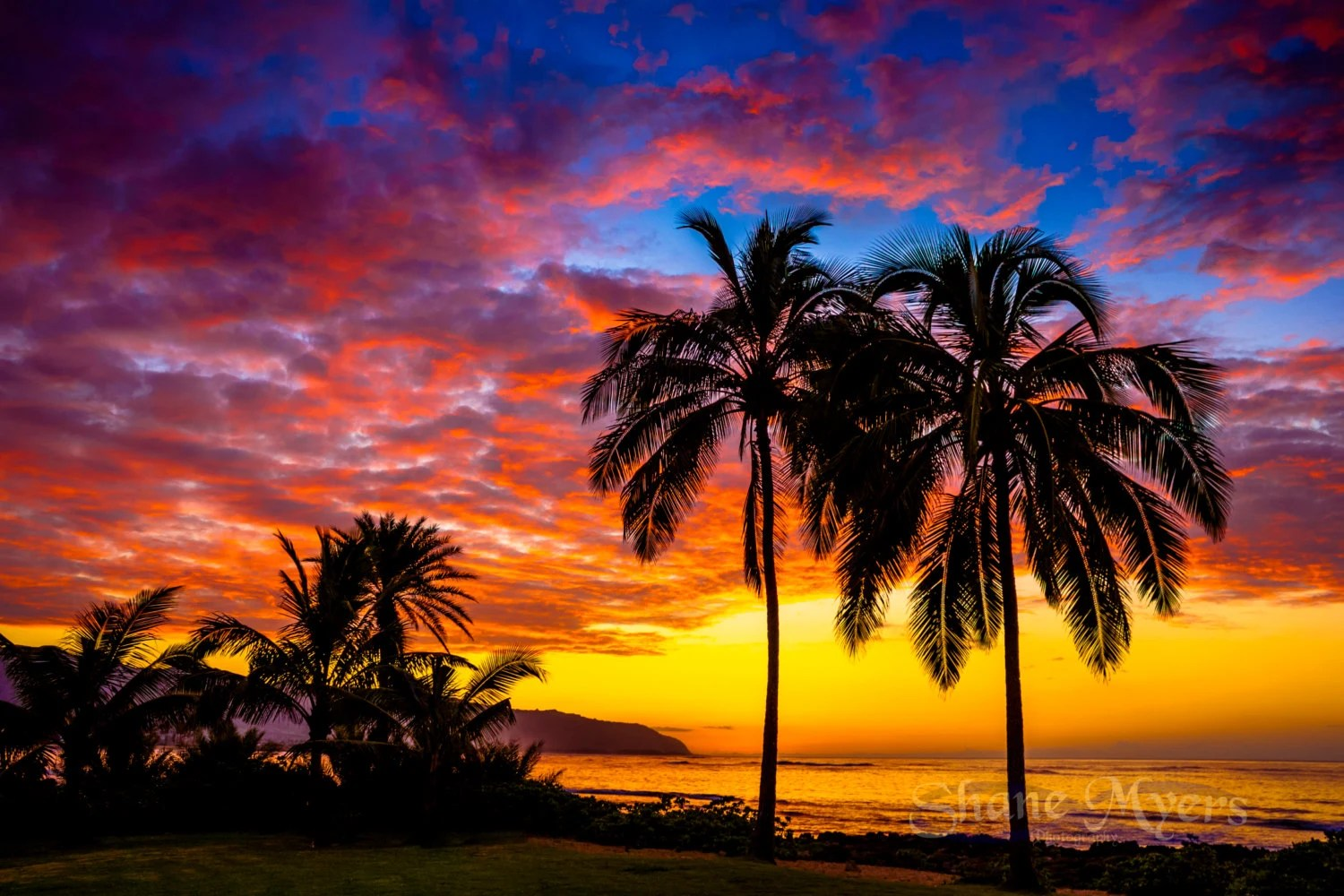 Kodak Black Wallpaper Beautiful Hawaiian Sunset Fine Art Print Titled