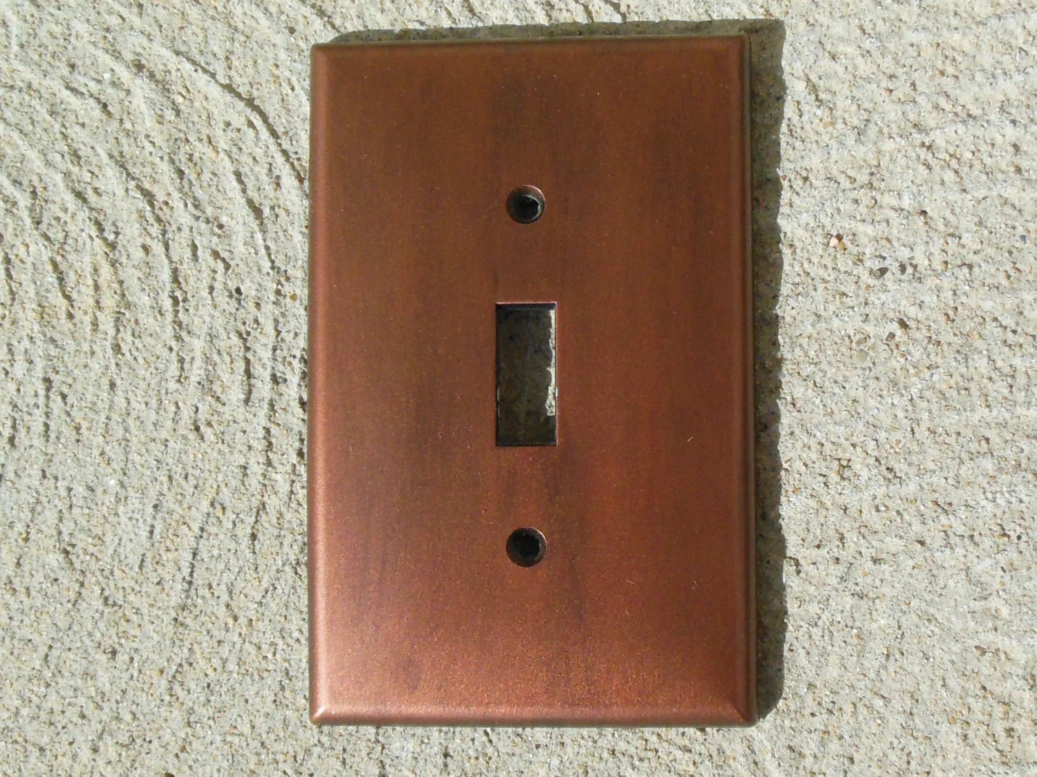 Copper Light Switch Plates Antiqued Copper Light Switch Plate Cover
