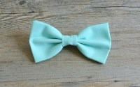 Popular items for mint blue bow tie on Etsy