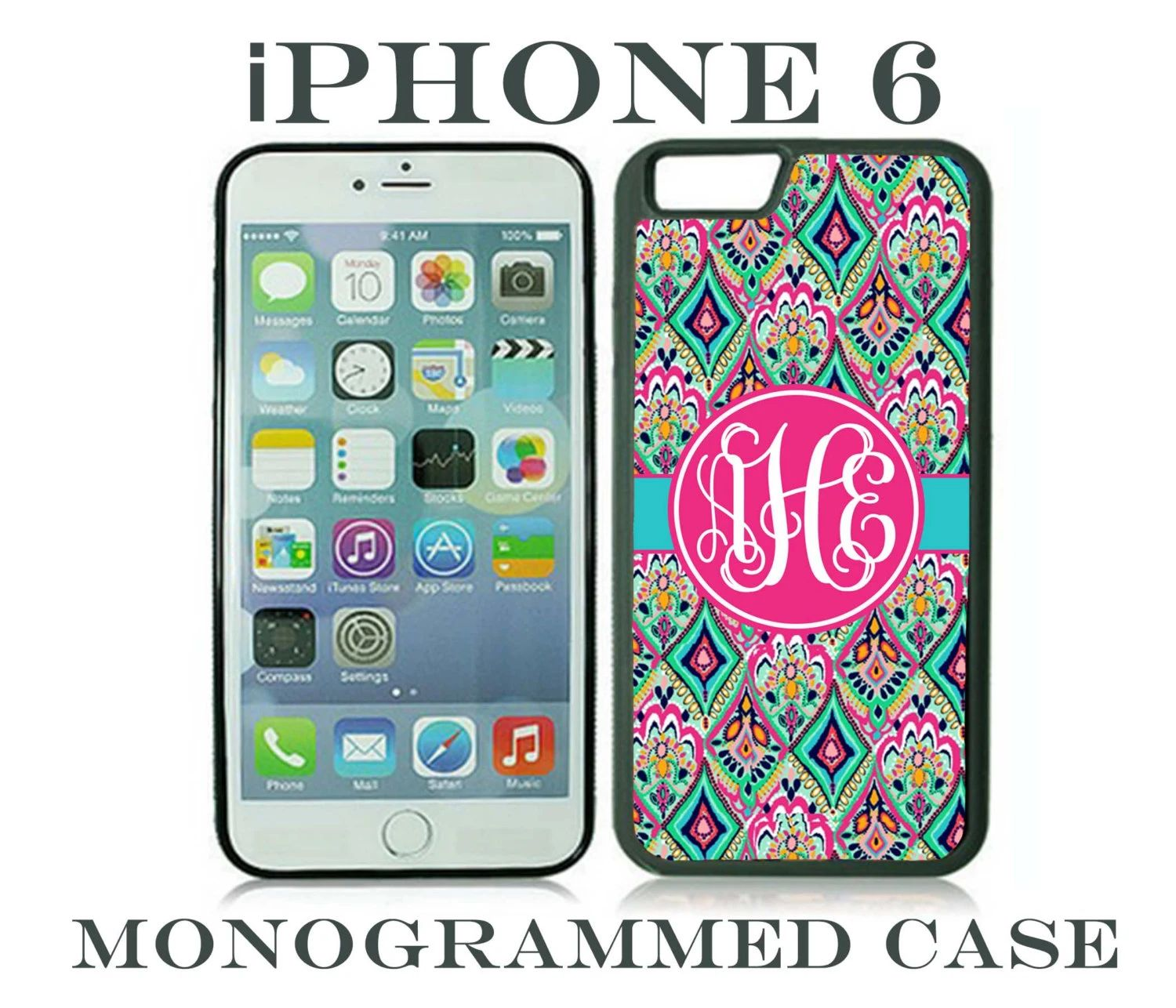 cheap monogrammed phone cases