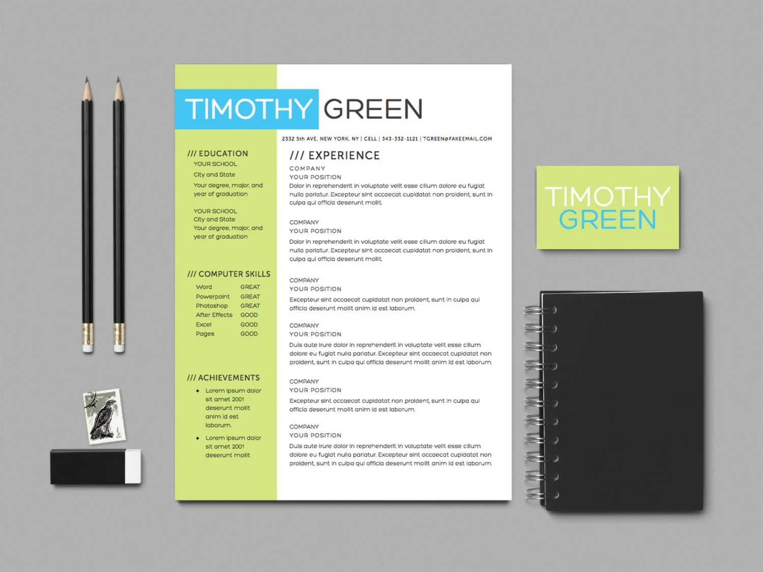 Cv download free template word