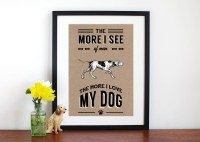 dog sayings wall art | just b.CAUSE