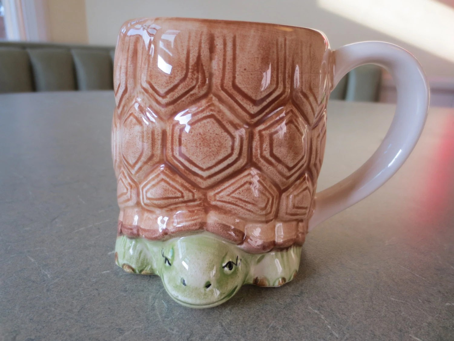 Animal Coffee Mug Vintage Mug Turtle Mug Otagiri Mug Ceramic Made In Japan