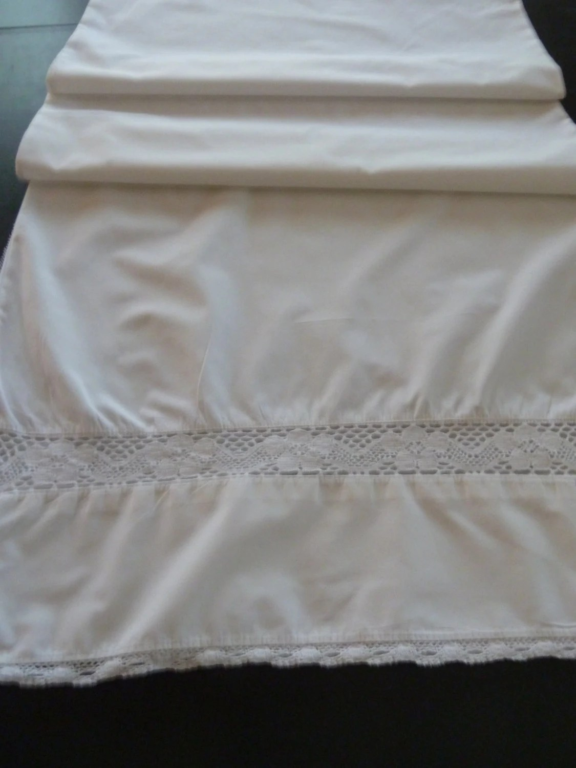 Long Euro Bolster Body Pillow Case For A Tiny Bit Of Lacey
