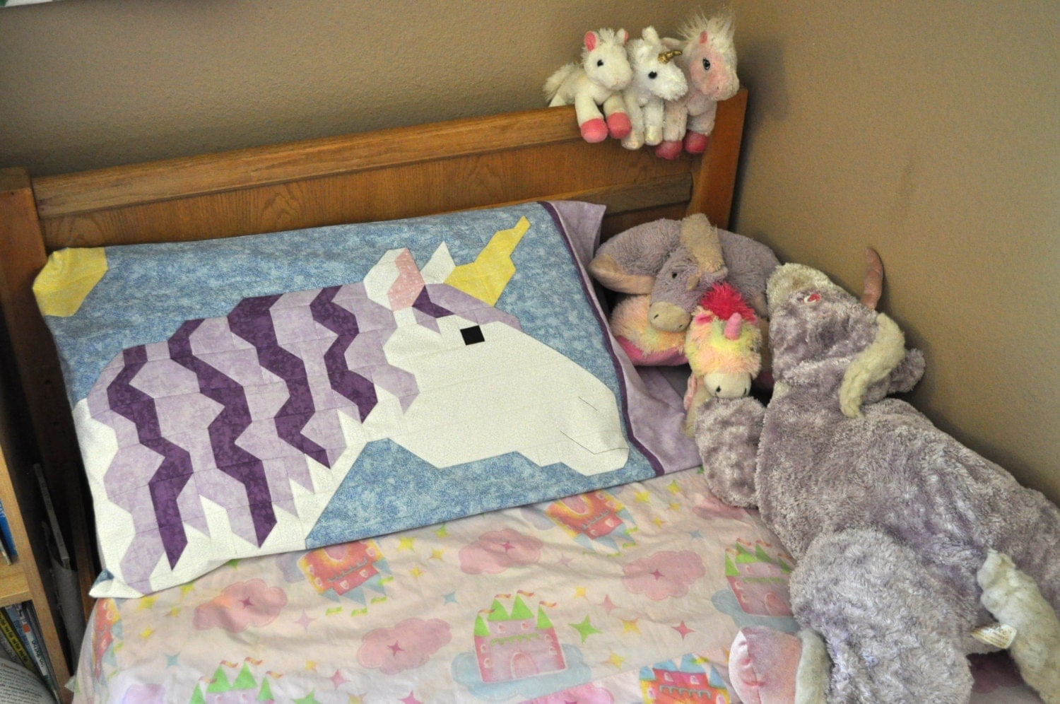 Kissenkiste Unicorn Quilt Pattern With 3 Sizes The Smallest Works As A