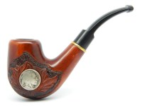 Smoking pipe American Indian 9mm filter Handmade Great