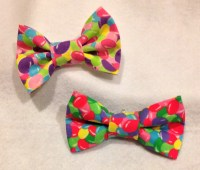 Easter Bow, Jelly beans Bow tie - prettied- infant toddler ...