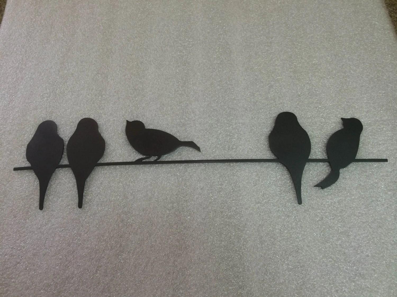 Birds On A Wire Wall Art - Elitflat