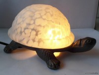 Meyda Tiffany turtle lamp Tiffany turtle light Slag glass