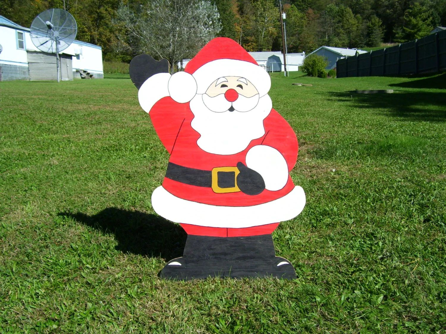 Christmas decorations outdoor wood - Wooden Outdoor Christmas Decorations