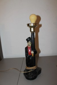 Charlie Chaplin Lamp VERY UNUSUAL