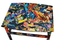 Items similar to Comic Book Furniture - Decoupaged in ...