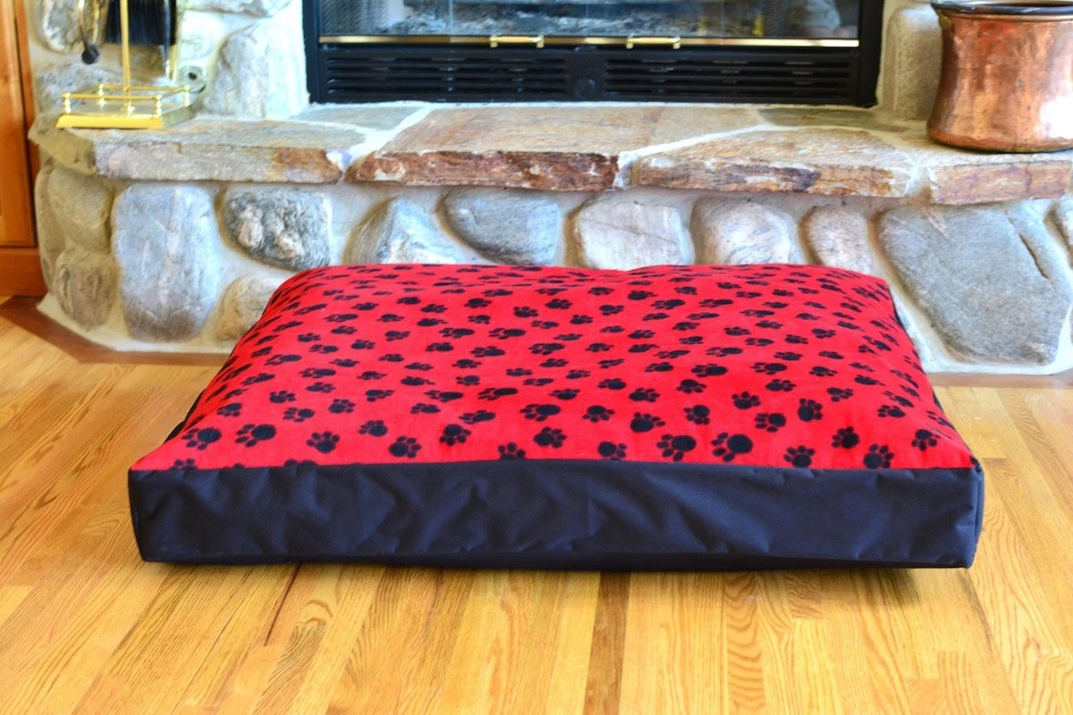 The Only Waterproof Fleece Pet Dog Bed Washable Cover By