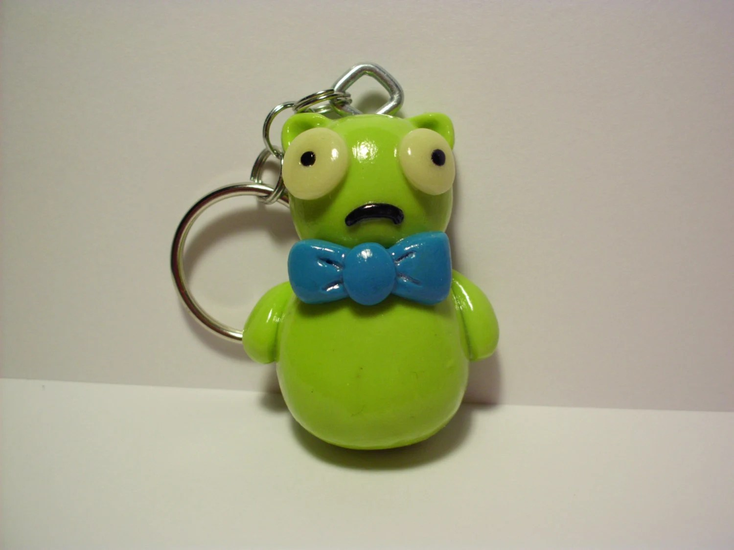 Kuchi Kopi Night Light Ikea Kuchi Kopi Key Chain / Glow In The Dark Eyes/ Green By