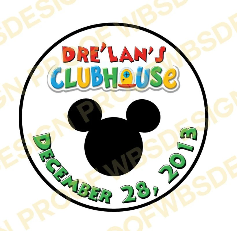 Mickey Mouse Clubhouse Stickers \u2013 decalsigns