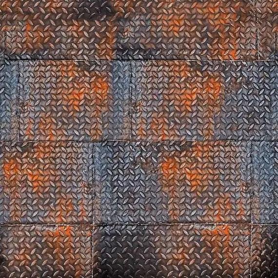 Rusty Metal Photography Floor Mat