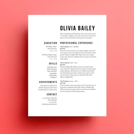 faire beau cv sans indesign