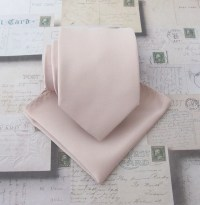 Mens Tie Nude Pink Pale Oatmeal Blush Necktie. Wedding Ties.
