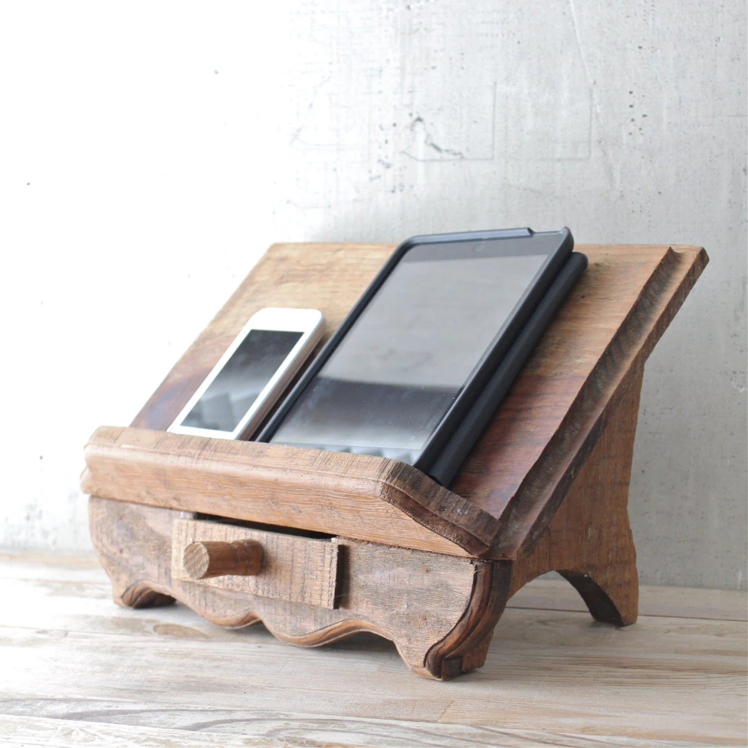 Book Holding Stand Vintage Wooden Book Stand By Lovintagefinds On Etsy