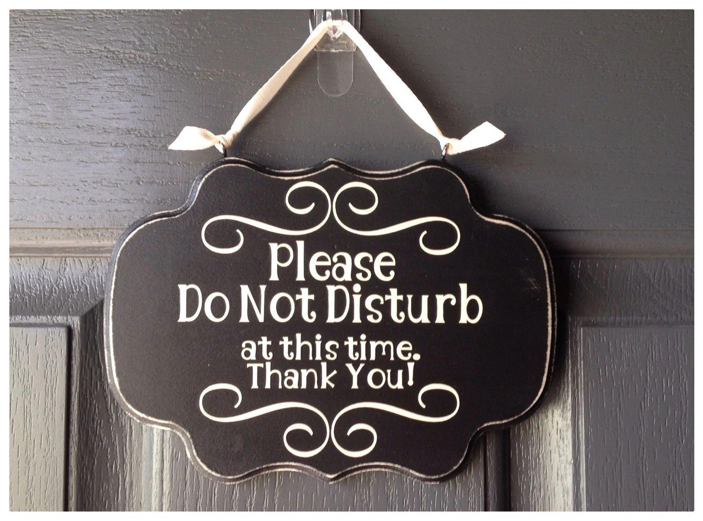 do not disturb sign for office door