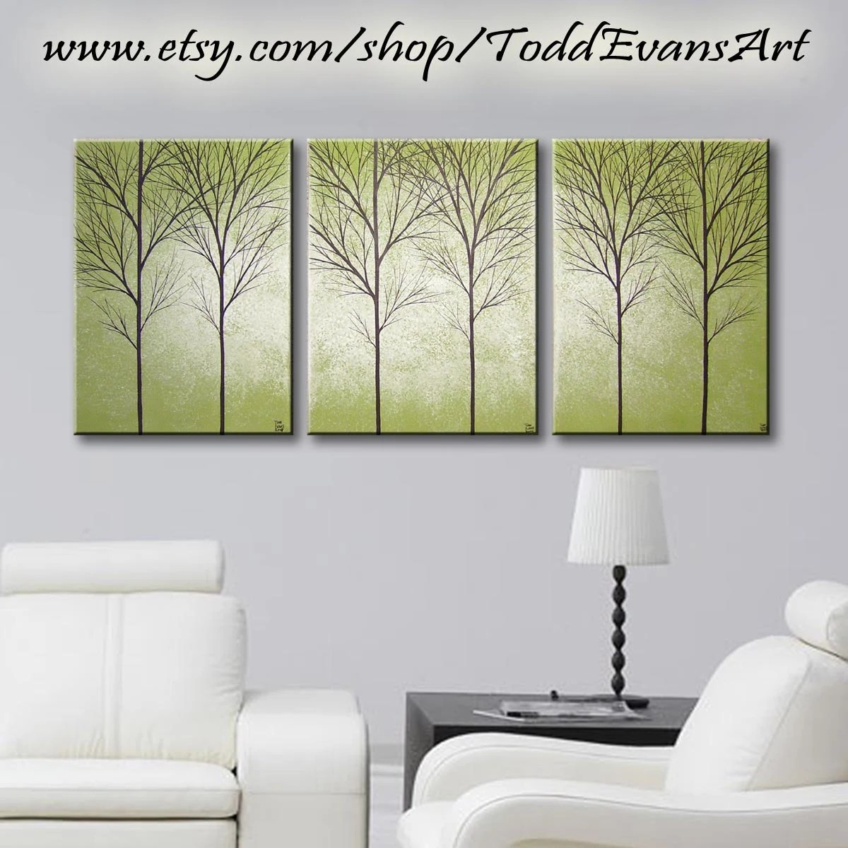 Olive Green Wall Decor Sale Today Olive Green 36 Inches 3 Piece Wall Art Set