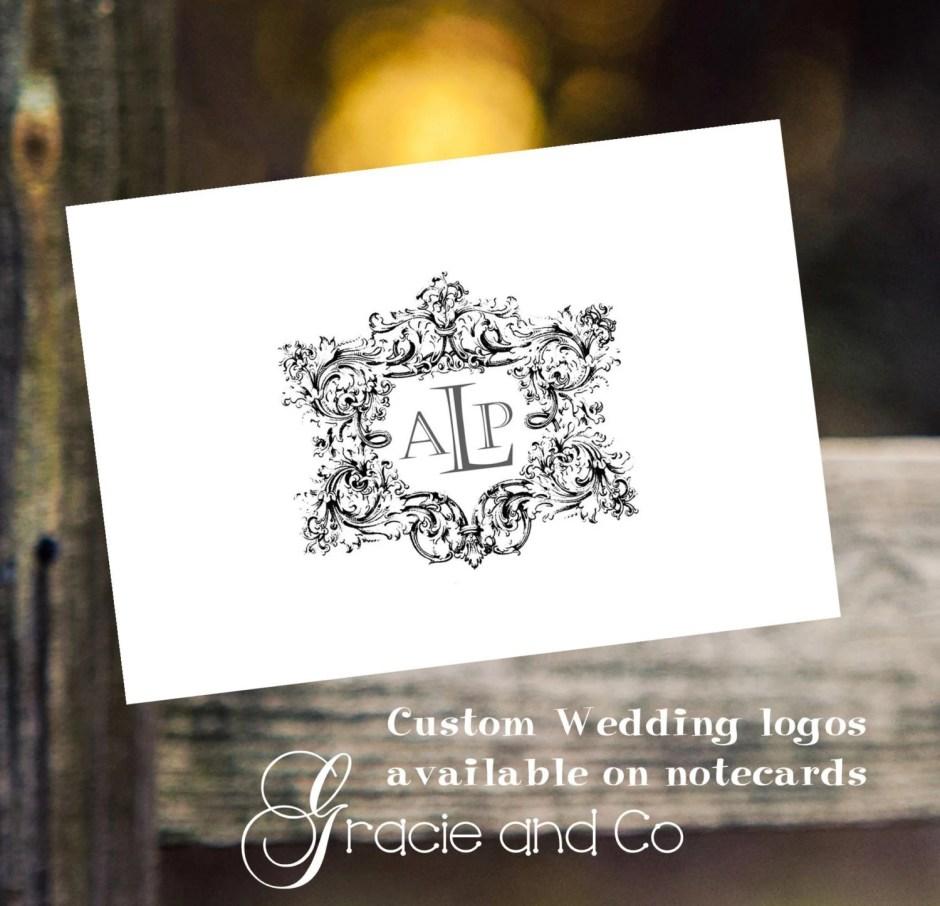 wedding logos custom orig...
