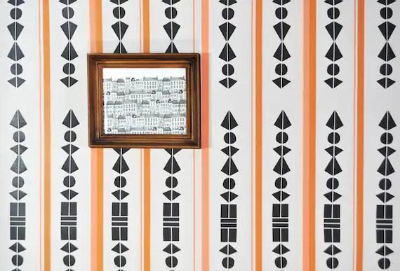 Removable Wallpaper Or Shelf Liner Paper Mosaic