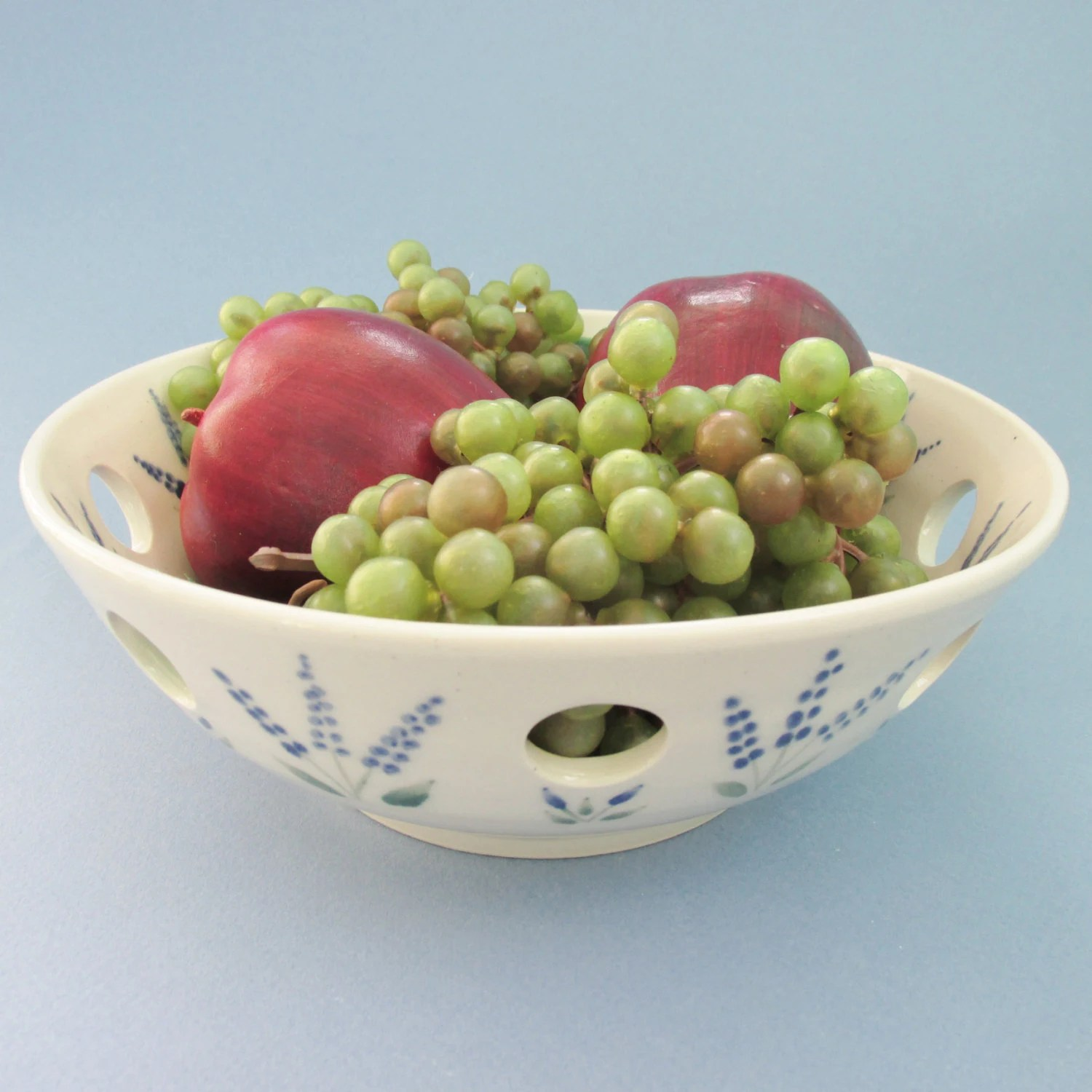 Fruit Bowl For Counter Pottery Fruit Bowl Ceramic Decorative Bowl By Carterspottery