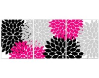 Popular items for fuchsia and black on Etsy