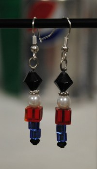 Nutcracker Ballet Beaded Earrings Christmas by ...