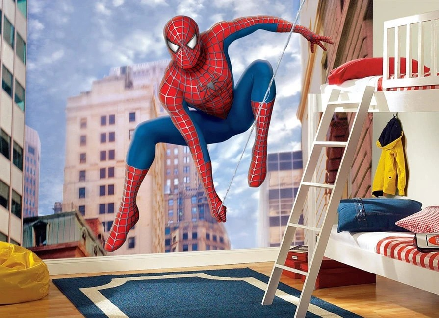 Create Own Name 3d Wallpaper Spiderman Wall Mural Wallpaper Wall D 233 Cor Wall Decal