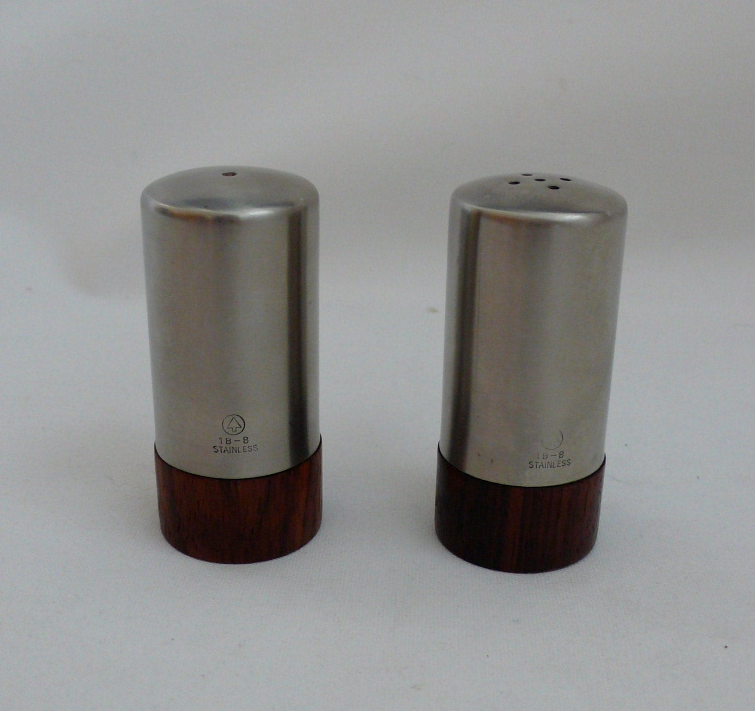 Modern Salt And Pepper Shakers Modern Salt And Pepper Shakers Teak And Stainless Steel