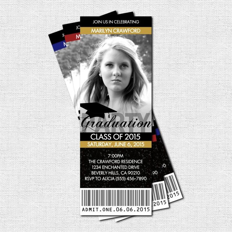 print your own graduation party invitations