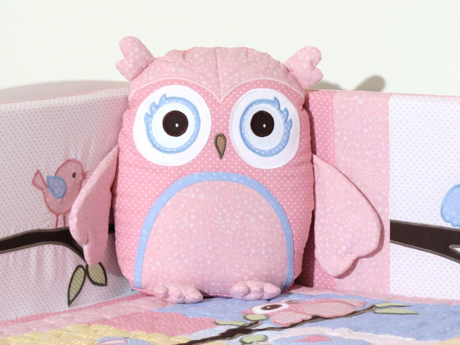 Stuff Owl Pink Owl Pillow Baby Toys Stuffed Owl Shower Gift Present