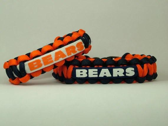 Chicago Bears Nfl Paracord Bracelet