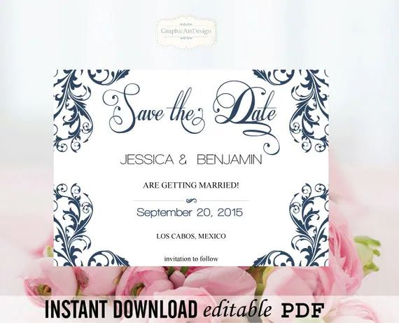 download and print wedding invitations