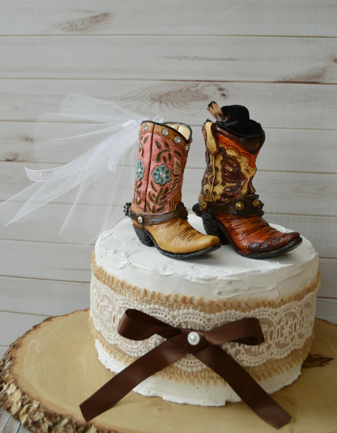 cowboy boot spurs wedding cowboy boots cowboy cowgirl wedding boot cake topper hat western country weddings rustic groom s cake boots and spurs bride and groom ranch barn themed