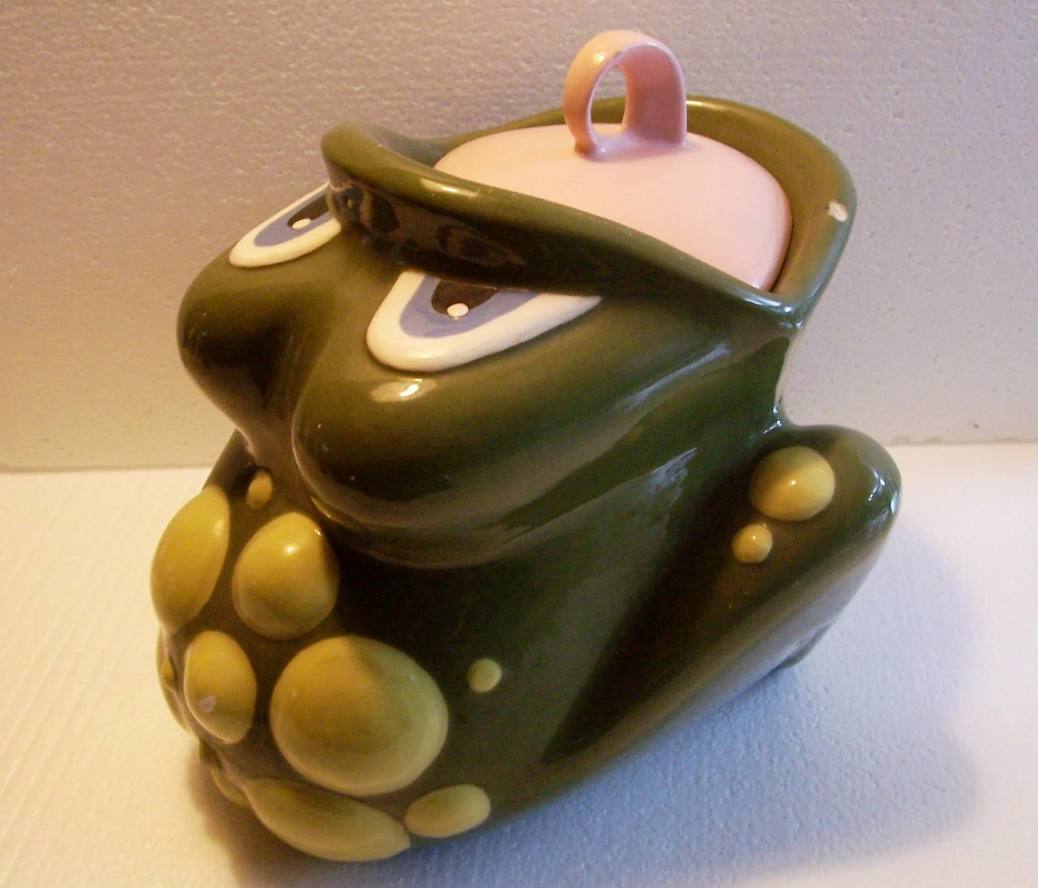 Modern Cookie Jar Vintage 60 39s Ceramic Frog Cookie Jar Mid Century Modern