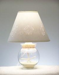 Small Fillable Seashell Lamp - Fillable - Seashells - Add ...