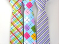 Easter tie for boys toddler tie boys purple tie kids tie