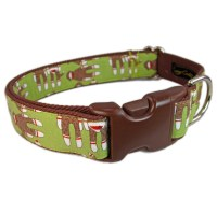 Custom Dog Collars Cute Dog Collar Green Dog Collar Dog