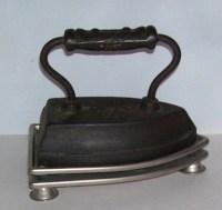 Antique Cast Iront Sad Iron, Door Stop, Sunbeam Iron ...
