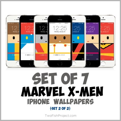 Marvel X-men iPhone wallpaper Storm Colossus Nightcrawler