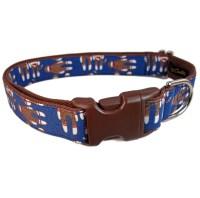 Custom Dog Collars Cute Dog Collar Navy Blue Dog by ...