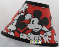 Disney Mickey Mouse Fabric Lamp Shade 10 Sizes to Choose