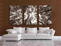 Three large multi panel wall art aspen 20x24 inch or 24x36