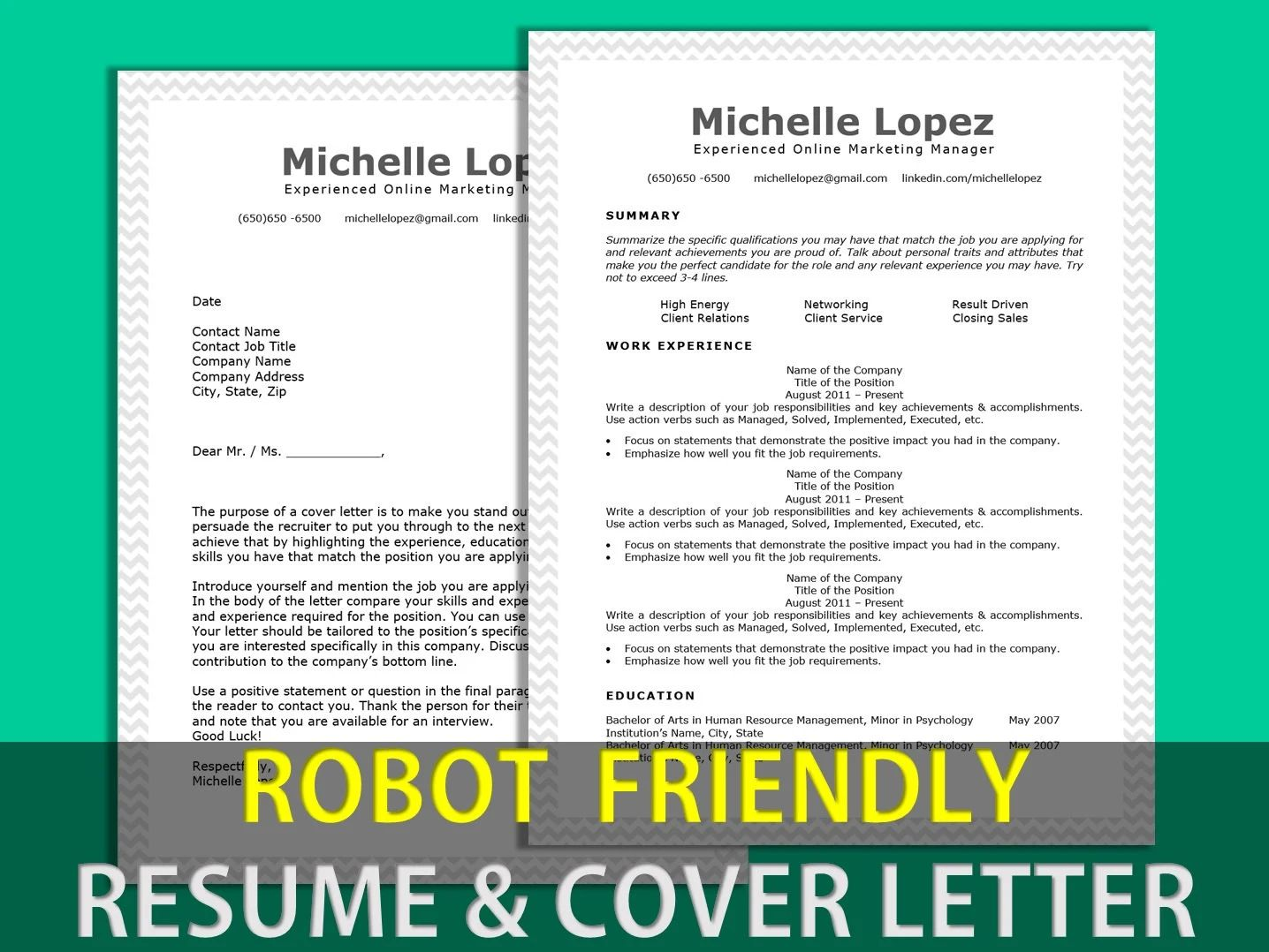 cv model robot friendly