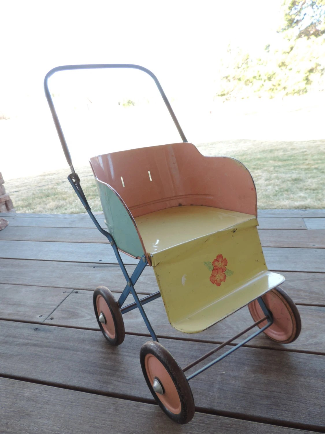 Newborn Baby Buggy Reviews Vintage Doll Stroller Baby Stroller Metal Baby Buggy Tin