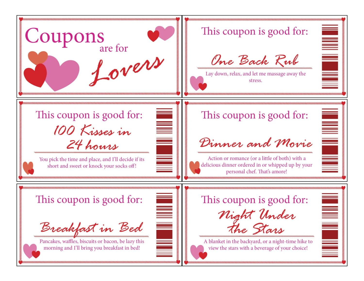 relationship coupon book