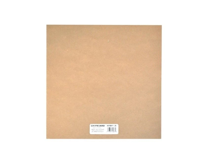 Spanplatte Gewicht Natural Color Medium Weight Chipboard Sheets 12 Inch By 12